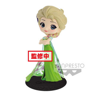 Figura Elsa Surprise Coordinate Disney Q Posket a-