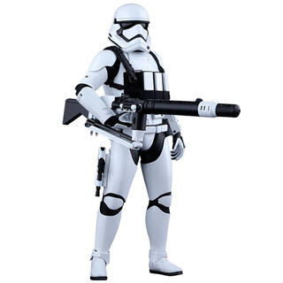 Figura First Order Heavy Gunner Stormtrooper Sixth Scale Star Wars Episodio Vii-