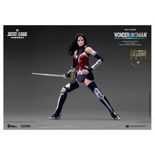 Figura Heroes Dinamicos Wonder Woman Dc Comics-