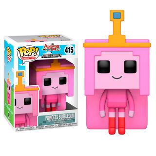 Figura Pop Adventure Time Minecraft Princess Bubblegume-
