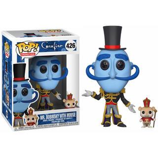 Figura Pop Coraline Mr. Bobinsky With Mouse-