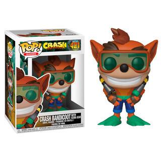 Figura Pop Crash Bandicoot Crash With Scuba Series 2-