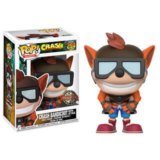 Figura Pop Crash Bandicoot With Jet Pack Exclusive-