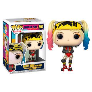 Figura Pop Dc Birds of Prey Harley Quinn Roller Derby-