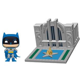 Figura Pop Dc Comics Batman 80th Hall of Justice With Batman-