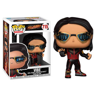 Figura Pop Dc Comics The Flash Vibe-