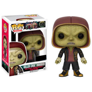 Figura Pop Dc Suicide Squad Killer Croc Hooded Exclusive-
