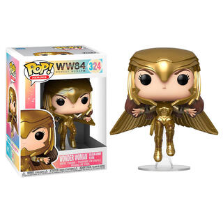 Figura Pop Dc Wonder Woman 1984 Wonder Woman Gold Flying Pose-