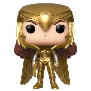 Figura Pop Dc Wonder Woman 1984 Wonder Woman Gold Power Pose-
