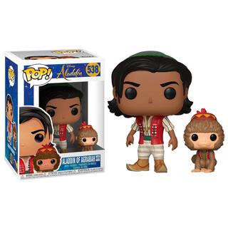 Figura Pop Disney Aladdin Aladdin With Abu-