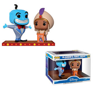 Figura Pop Disney Movie Moment Aladdin Genie-