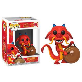 Figura Pop Disney Mulan Mushu With Gong-
