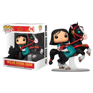 Figura Pop Disney Mulan On Khan-