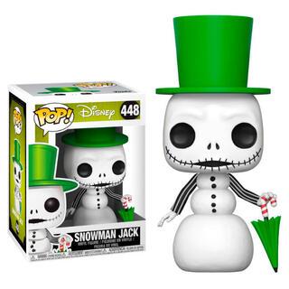Figura Pop Disney Pesadilla Antes de Navidad Snowman Jack-