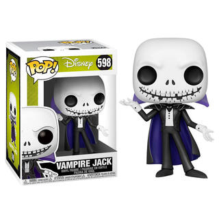Figura Pop Disney Pesadilla Antes de Navidad Vampire Jack-