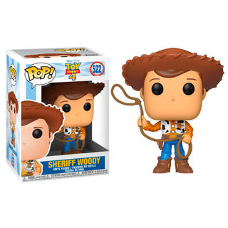 Figura Pop Disney Toy Story 4 Woody-