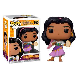 Figura Pop Disney el Jorobado de Notre Dame Esmeralda-