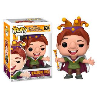 Figura Pop Disney el Jorobado de Notre Dame Quasimodo Fool-
