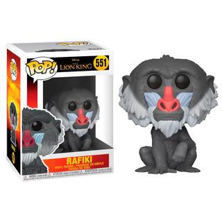 Figura Pop Disney el Rey Leon Rafiki-