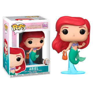 Figura Pop Disney la Sirenita Ariel With Bag-