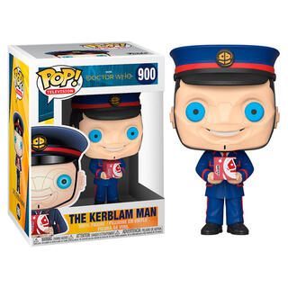 Figura Pop Doctor Who The Kerblam Man-