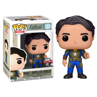 Figura Pop Fallout Vault Dweller Exclusive-