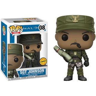 Figura Pop Halo Sgt. Johnson Chase-