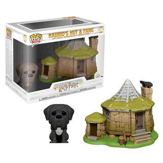 Figura Pop Harry Potter Hagrid's Hut With Fang-