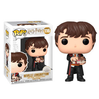 Figura Pop Harry Potter Neville With Monster Book-