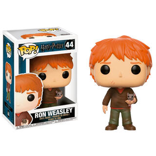 Figura Pop Harry Potter Ron Weasley With Scabbers-