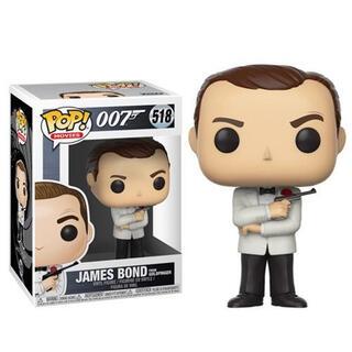 Figura Pop James Bond Sean Connery White Tux-