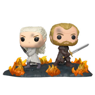 Figura Pop Juego de Tronos Daenerys & Jorah B2b With Swords-