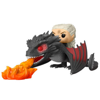 Figura Pop Juego de Tronos Daenerys On Fiery Drogon-