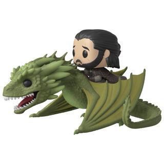 Figura Pop Juego de Tronos Jon Snow Rhaegal-