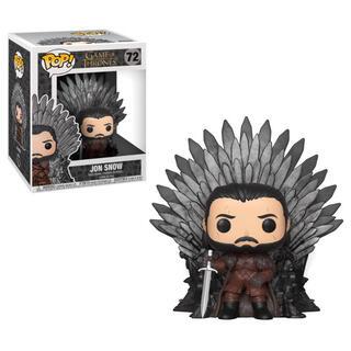 Figura Pop Juego de Tronos Jon Snow Sitting On Throne-