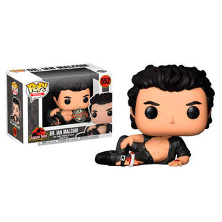 Figura Pop Jurassic Park Dr. Ian Malcolm Wounded Exclusive-