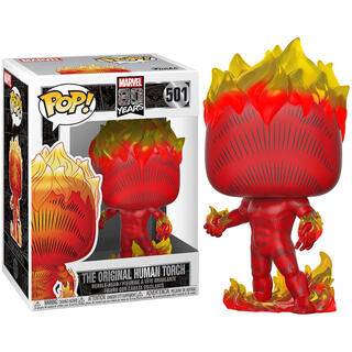 Figura Pop Marvel 80th First Appearance Human Torch-