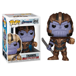 Figura Pop Marvel Avengers Endgame Thanos-