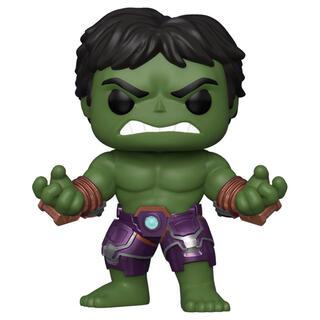 Figura Pop Marvel Avengers Game Hulk Stark Tech Suit-