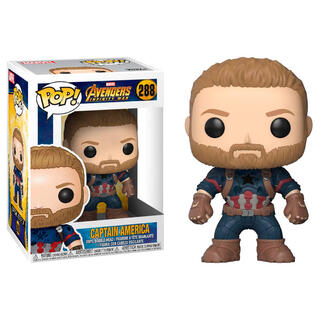 Figura Pop Marvel Avengers Infinity War Captain America-