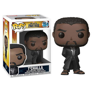 Figura Pop Marvel Black Panther Robe Black-