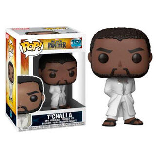 Figura Pop Marvel Black Panther Robe White-