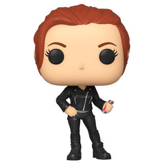 Figura Pop Marvel Black Widow Street-