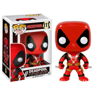 Figura Pop Marvel Deadpool Swords-