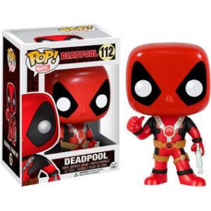 Figura Pop Marvel Deadpool Thum Up-