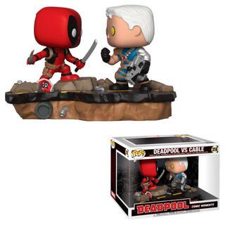 Figura Pop Marvel Deadpool Vs Cable-