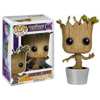 Figura Pop Marvel Guardianes de la Galaxia Dancing Groot-