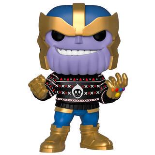 Figura Pop Marvel Holiday Thanos-