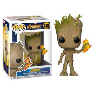 Figura Pop Marvel Infinity War Groot Stormbreaker-
