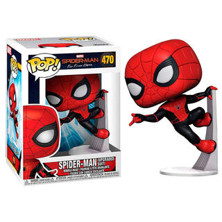 Figura Pop Marvel Spiderman Far From Home Spiderman Upgraded Suit-